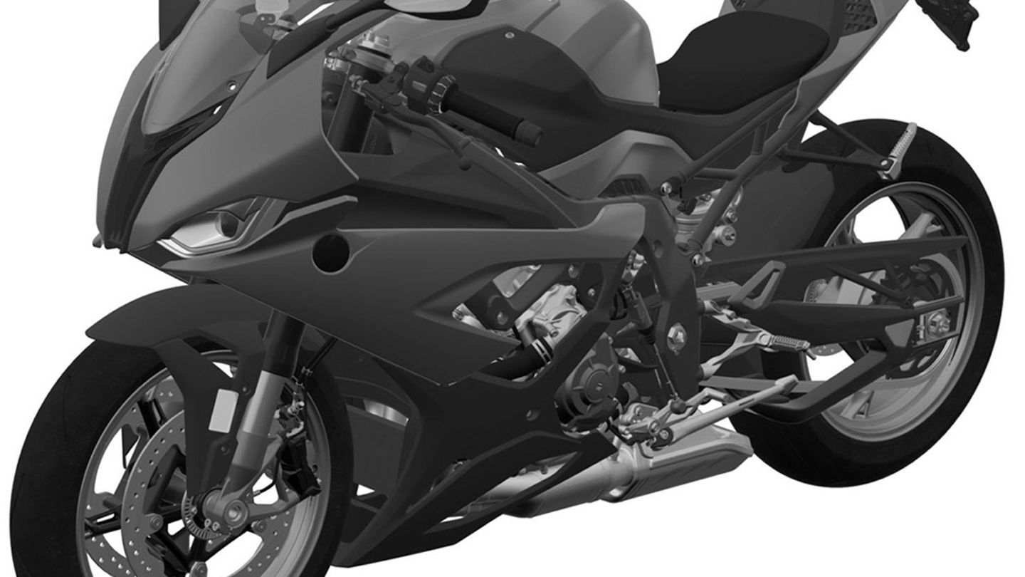New Bmw S1000rr 2019 Leaked In Design Patent Application Superbike