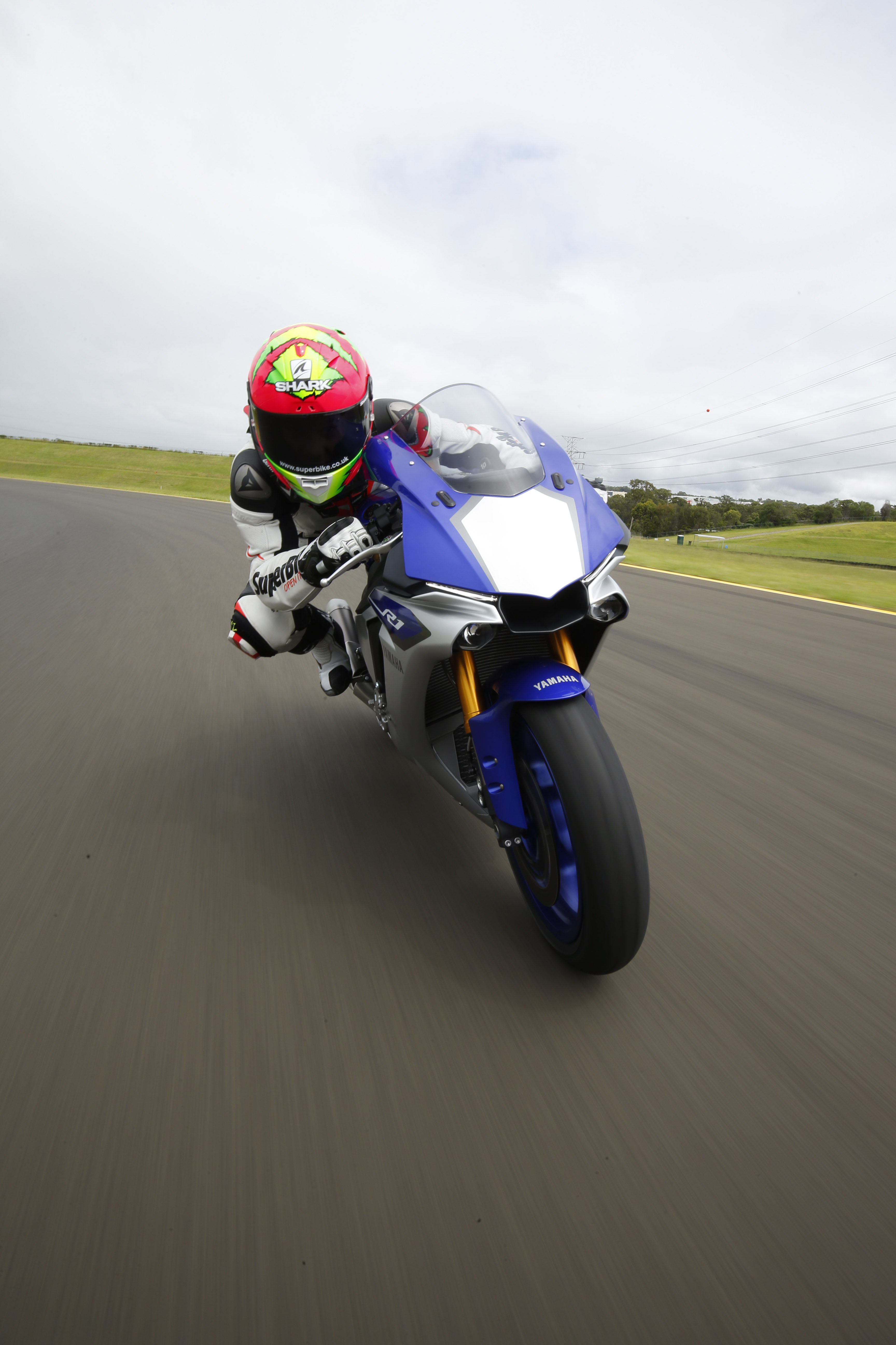 how to ride a superbike for the first time