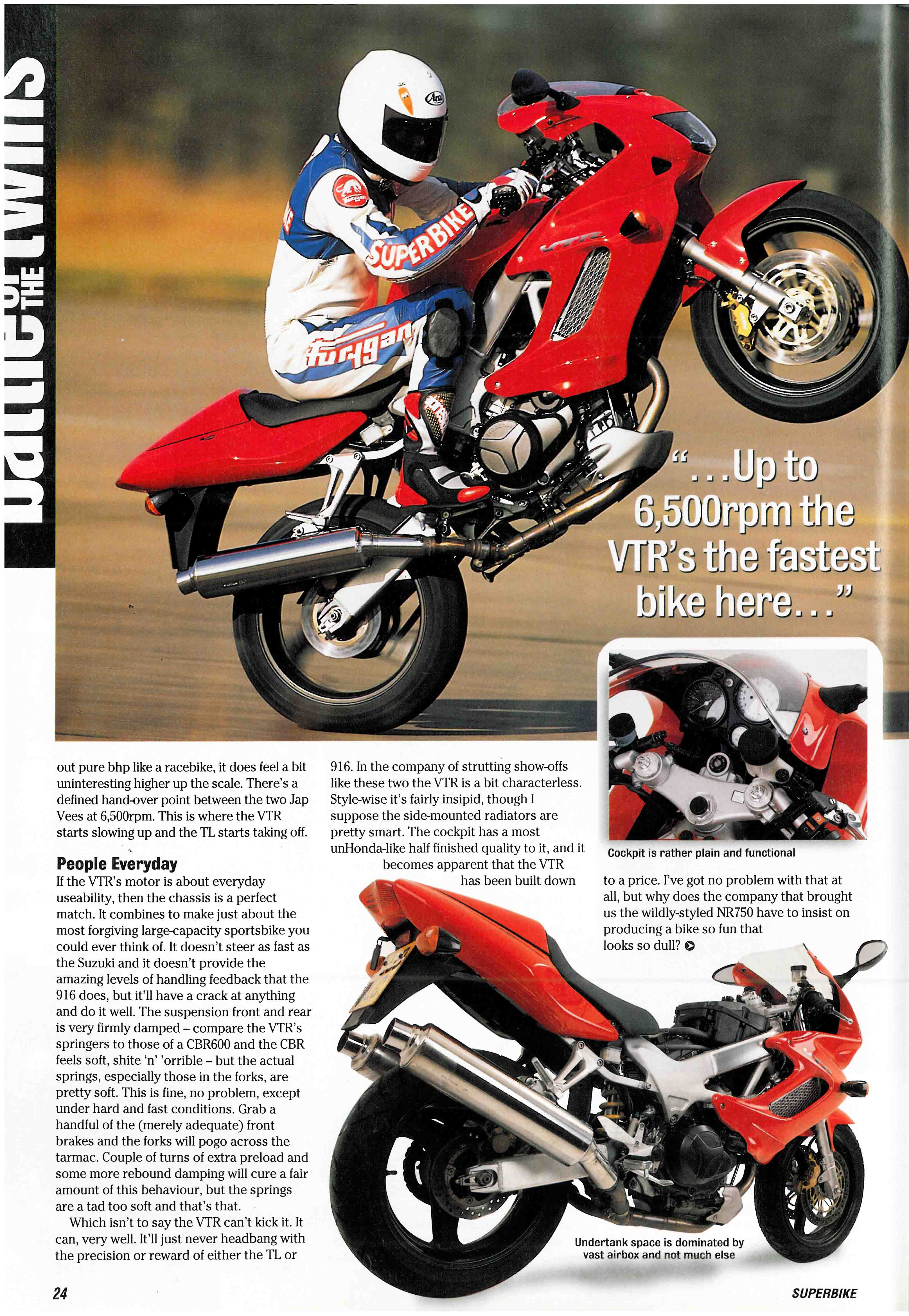 Throwback Thursday - Battle Of The Twins from the April 1997 issue of SuperBike | Superbike Magazine