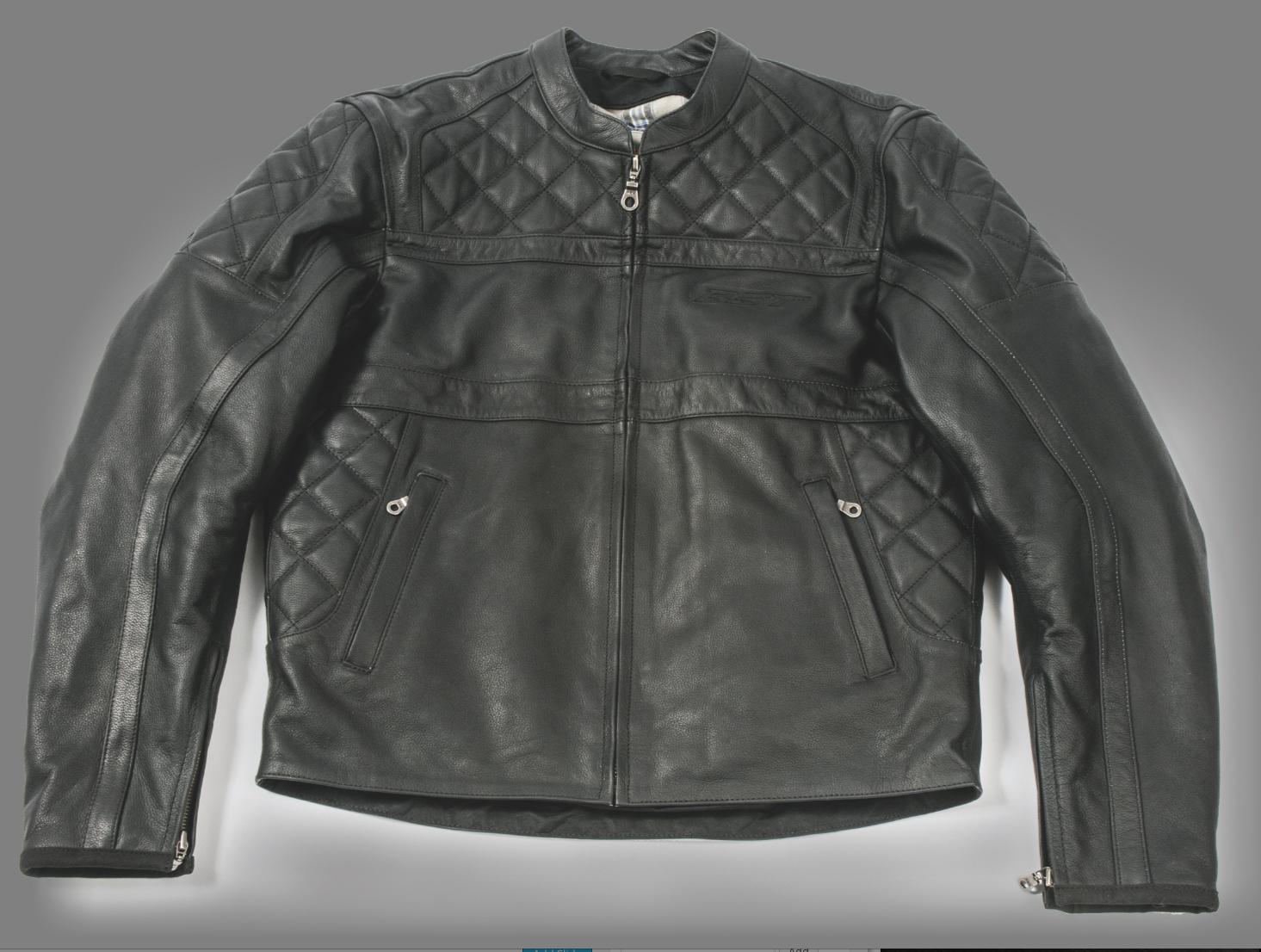 Alpinestars retro leather jacket – Novelties of modern fashion ...