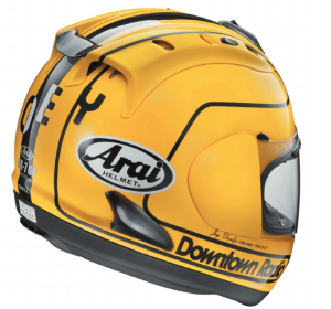 ARAI LAUNCH RX7-GP JOEY DUNLOP 1985 LIMITED EDITION HELMET FOR CLASSIC TT