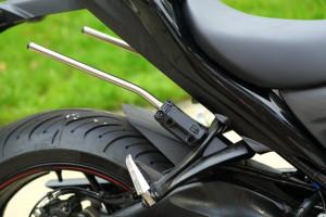 GSX-S SW-Motech Blaze pannier rails