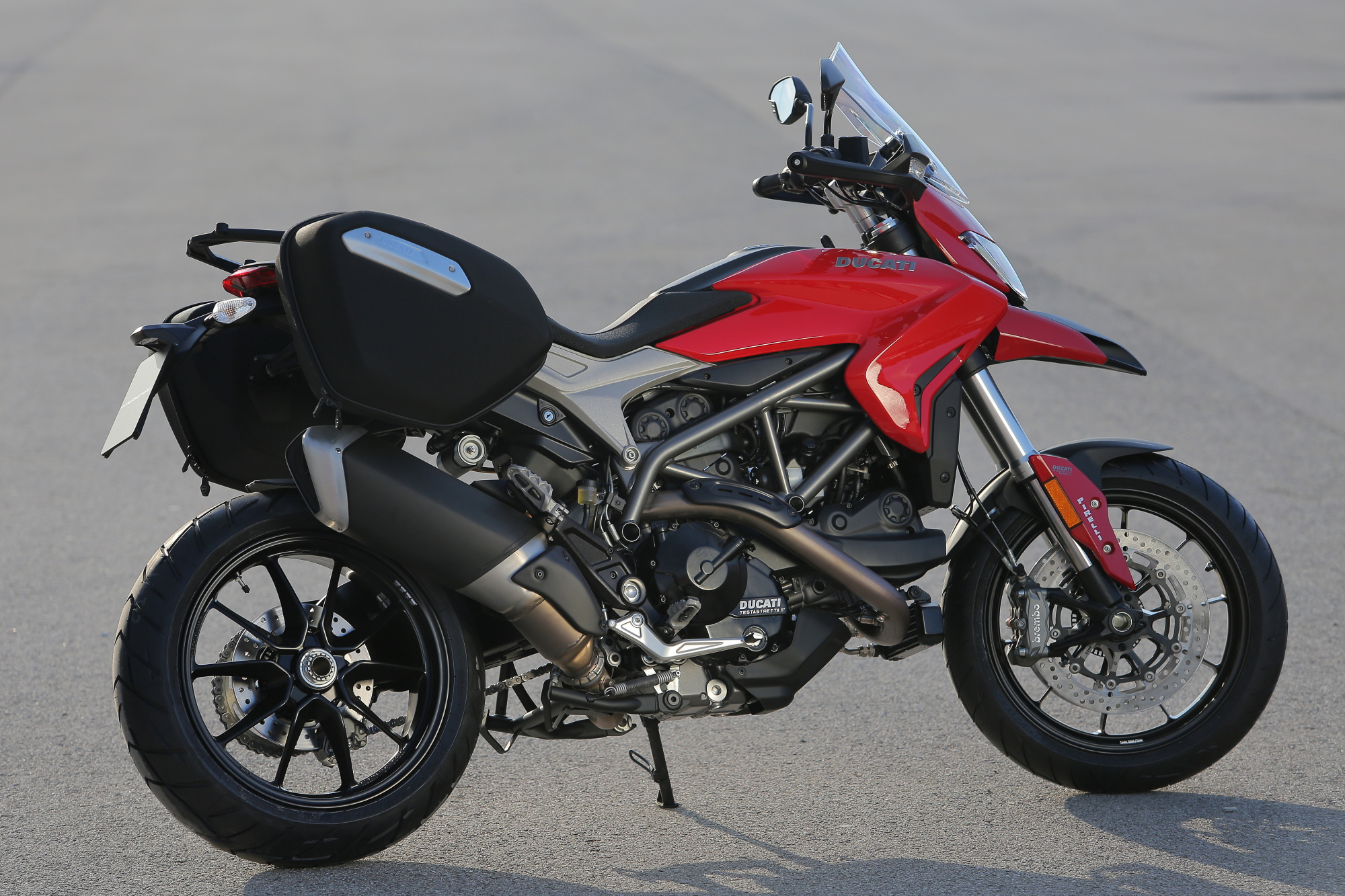 Ducati Hyperstrada Touring Windscreen