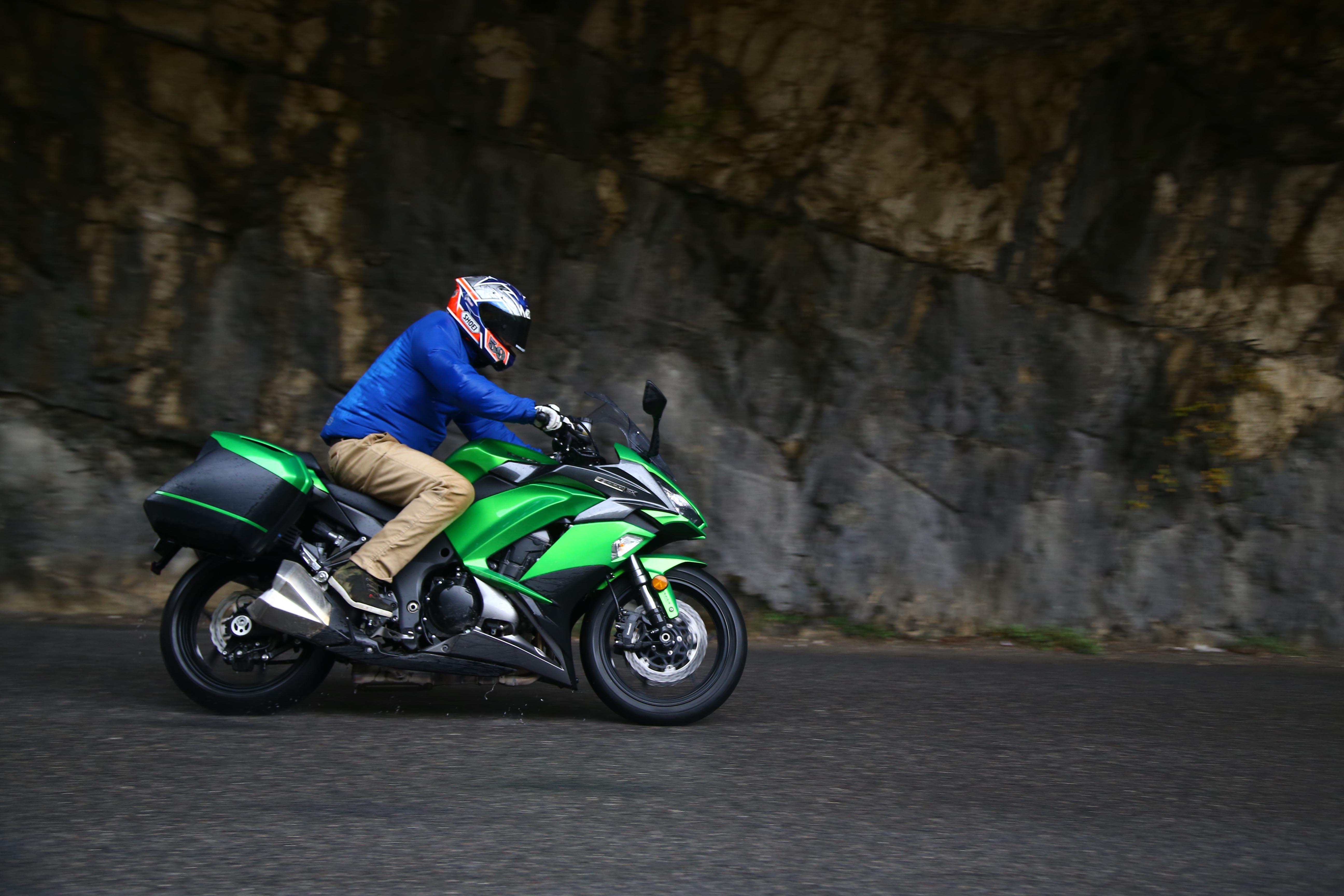 Kawasaki Z1000SX Launch