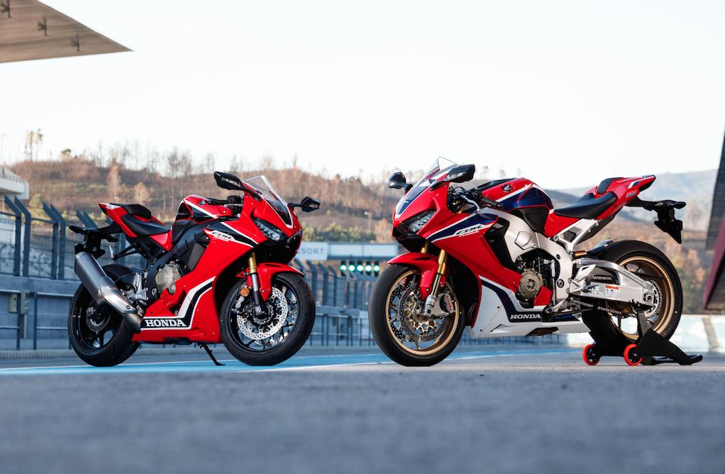 2017 Honda CBR1000 Fireblades RR and SP