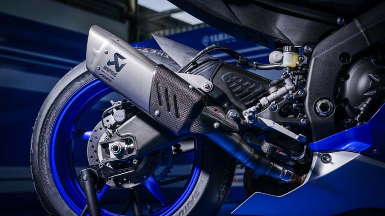 201703 Yamaha R6 Spain227: 2007 Yamaha R6 Exhaust System At Woreks.co
